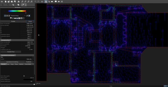 Frame Simulator Direzione Flusso