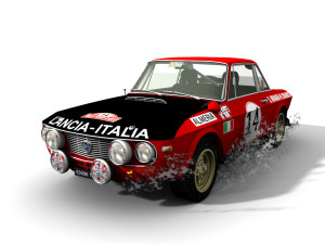 Lancia with AmbientOcclusion