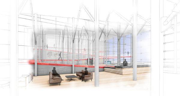 Interior artistic rendering