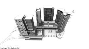 Buildings Rendering
