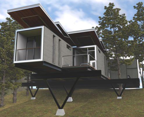 AmbientOcclusion Hill Villa