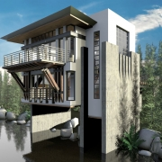AmbientOcclusion House Exterior Renderin