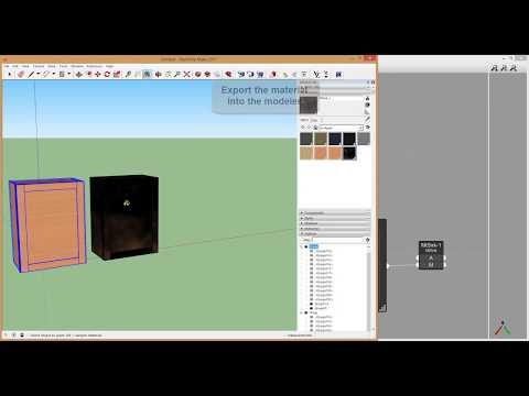 Viz Pro Complex Materials in SketchUp