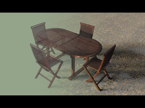 AmbientOcclusion Table Rendering