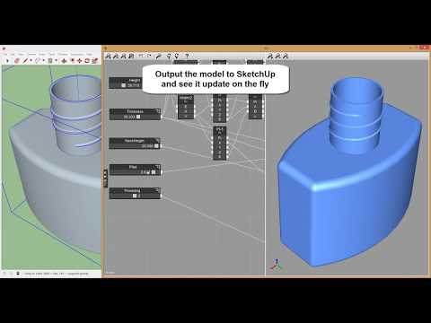 Viz Pro 2.0 - Parametric Modeling for SketchUp