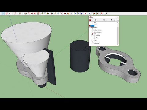 Bool for SketchUp