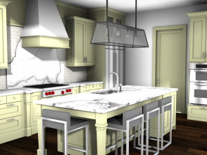 Kitchen with AmbientOcclusion