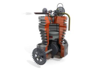 Motore con AmbientOcclusion