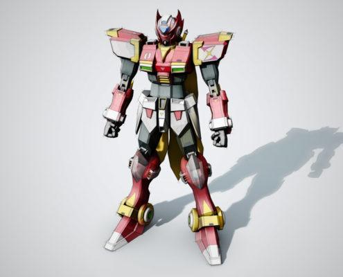 SketchFX robot rendering