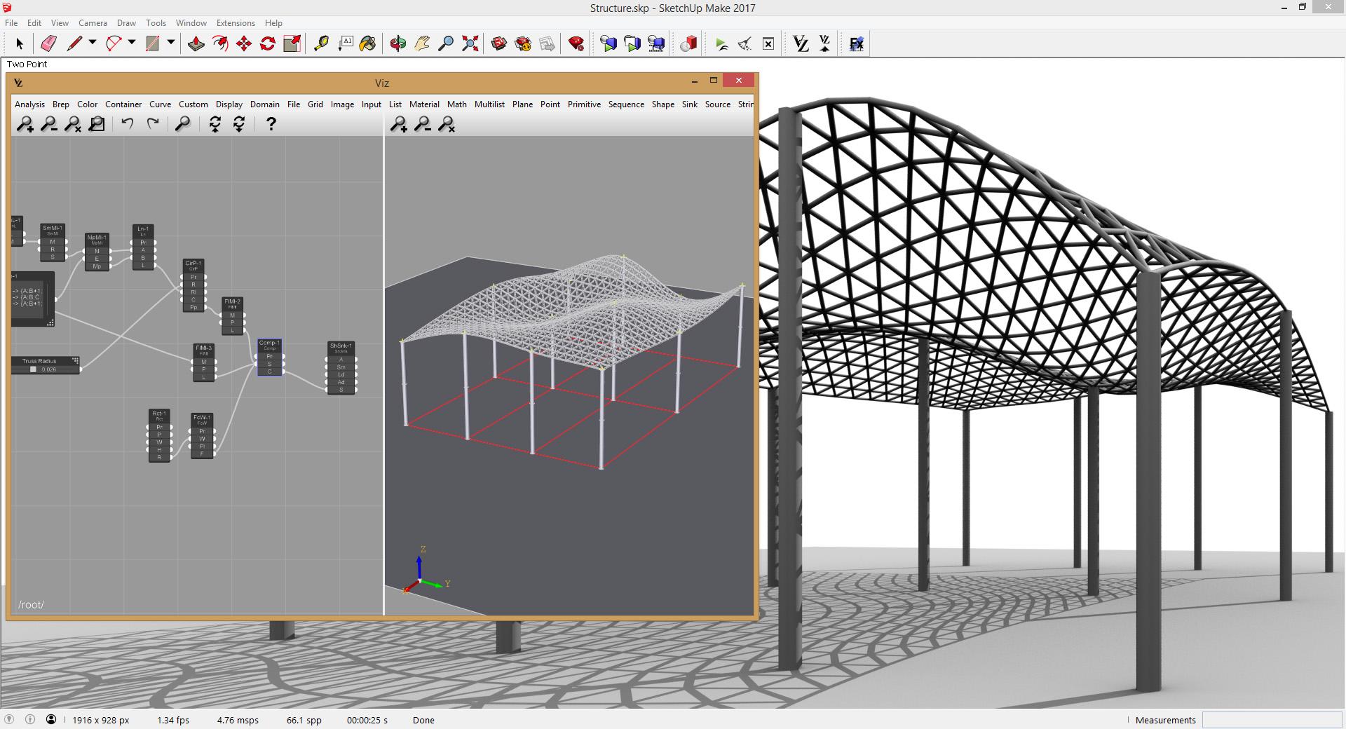 Viz Pro Structure