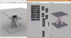 Viz Pro Parametric Table