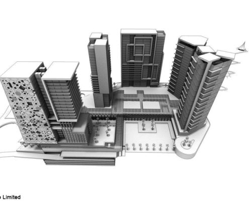 Buildings Rendering