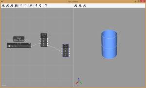 Viz Pro Cylinder and Slider