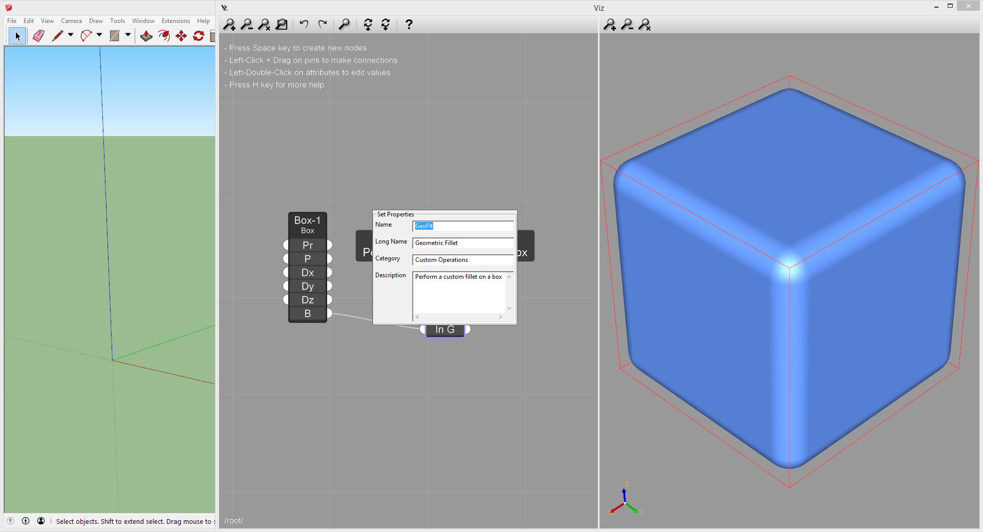 Viz Pro container description