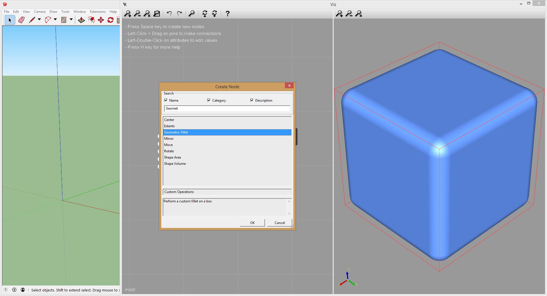 Viz Pro containers creation
