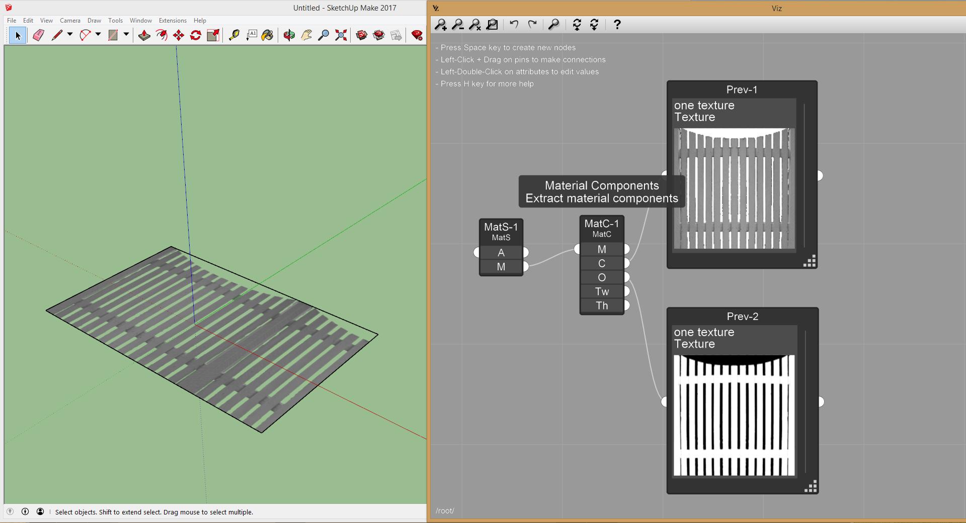 Viz Pro Material Components