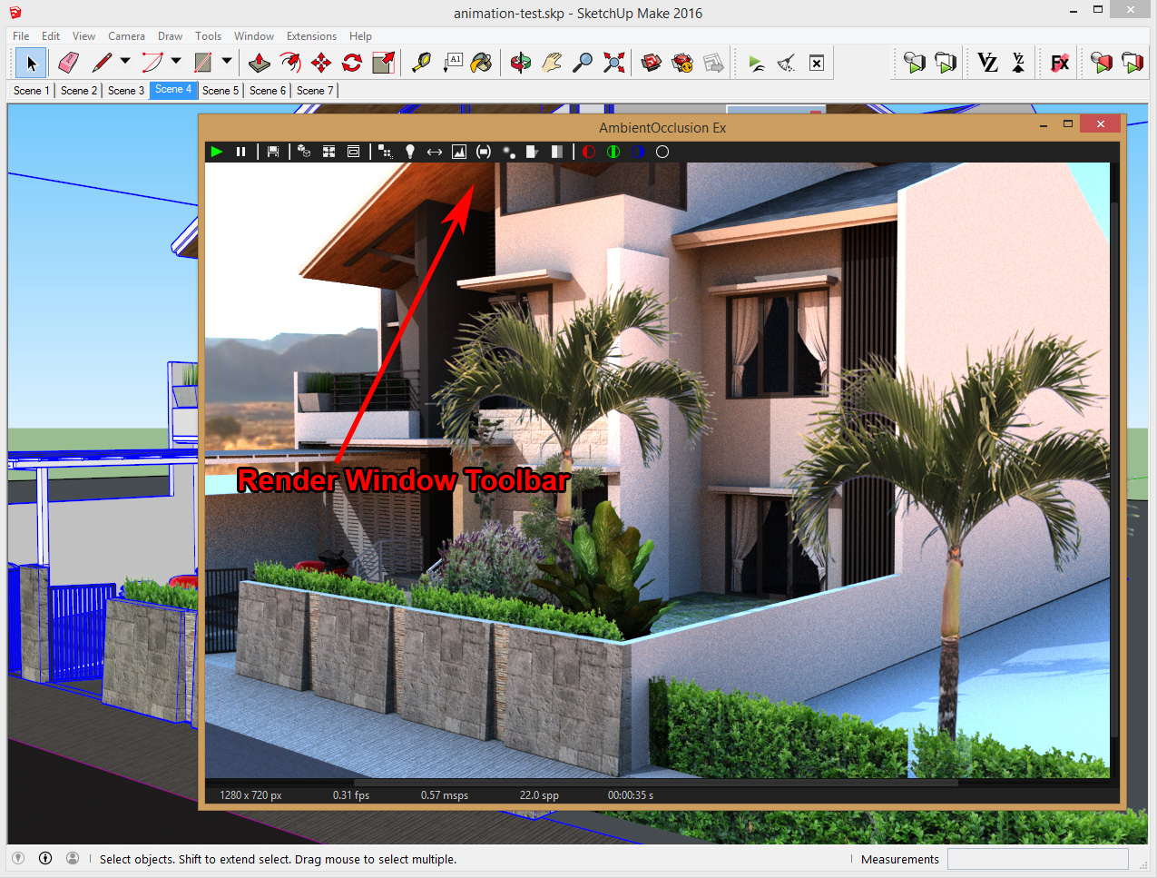 Render Window