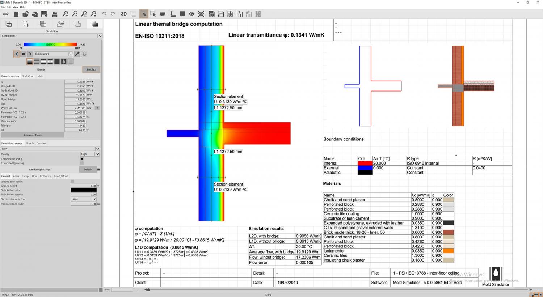 Thermal Bridge | Mold Simulator | Fluid Interactive