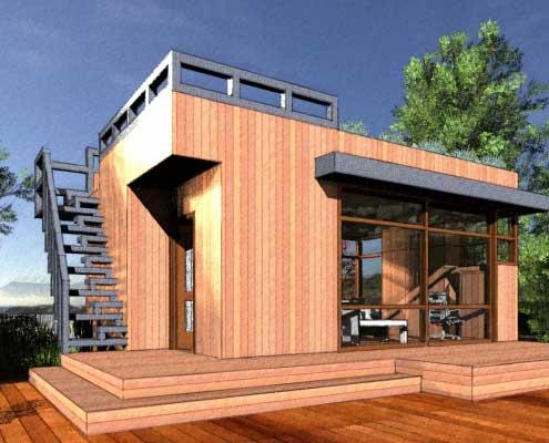 SketchFX - Wooden House